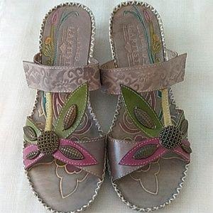 🎉🎉HP 10/11/19🎉🎉Spring Step L`Artiste Sandals 7